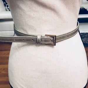 Style & Co Gold Slim Belt